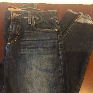 Joe's Jeans Ankle with Raw Hem